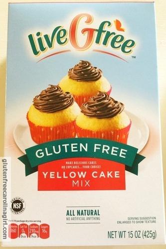 Aldi Live G Free Gluten Free Yellow Cake Mix | Gluten Free Carolina ...