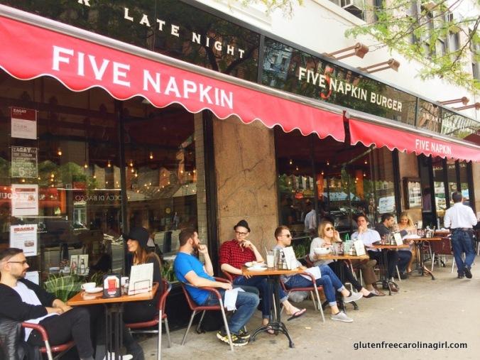 Outside 5 Napkin Burger