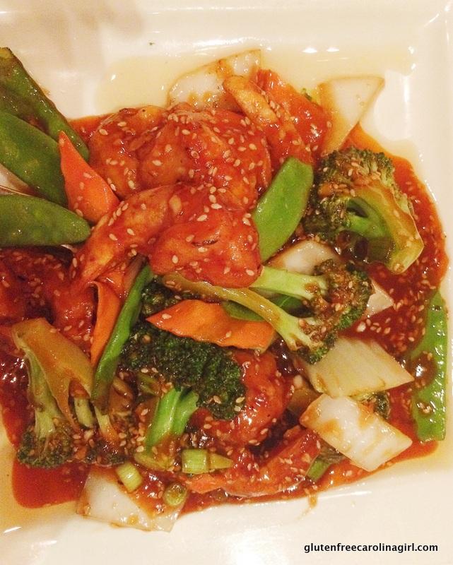 Gluten Free Sesame Shrimp