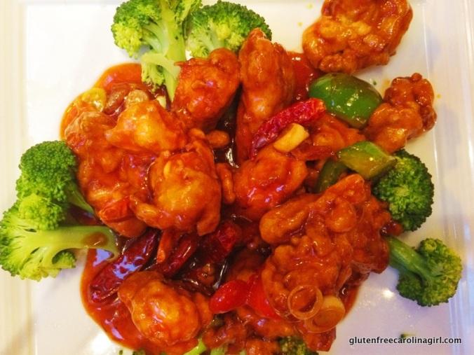 Gluten Free General Tso's Chicken