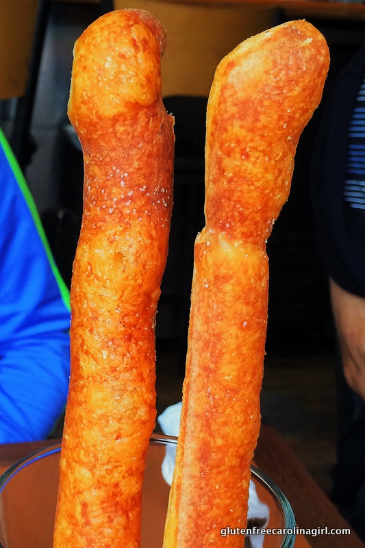 Gluten free breadsticks