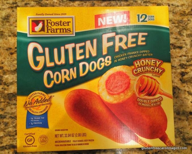 Foster Farms gluten free corn dogs