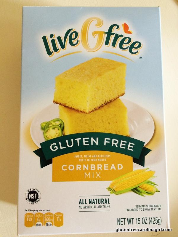 Aldi Live G Free Gluten Free Cornbread Mix