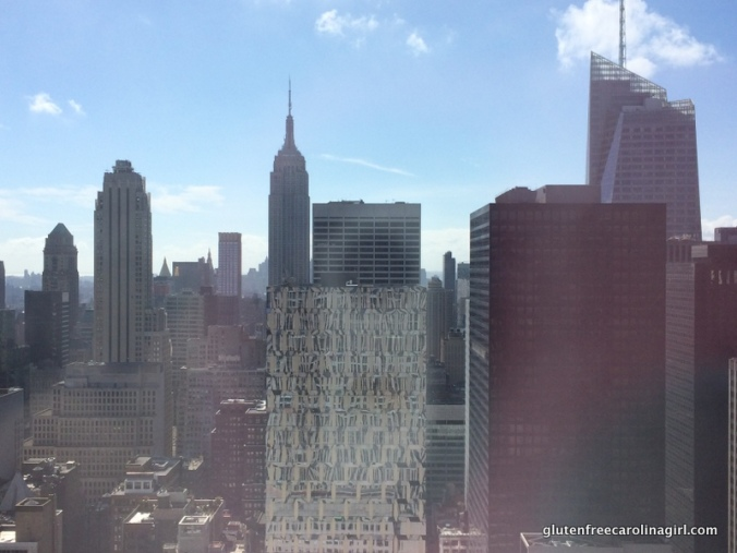 View from 30 Rock - looking towards Empire State Building