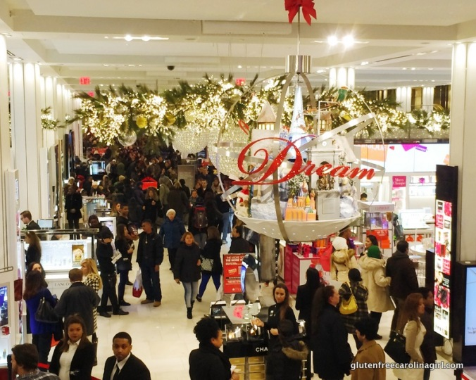 Macy's was packed!